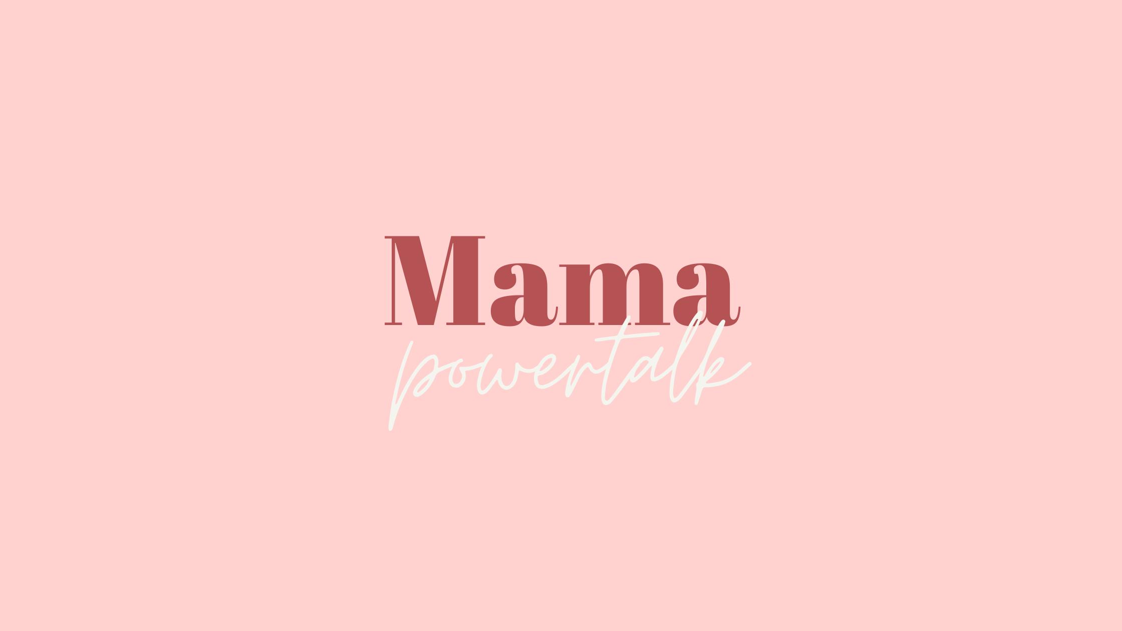 Das hier ist für DICH, Mama, denn du bist wichtig!